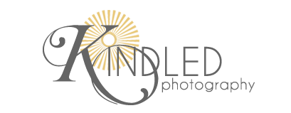 kindled photography logo